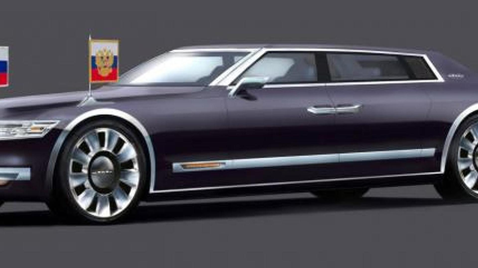 Limo For Sale >> Marussia asks fans to create a ZiL-inspired limo for Vladimir Putin