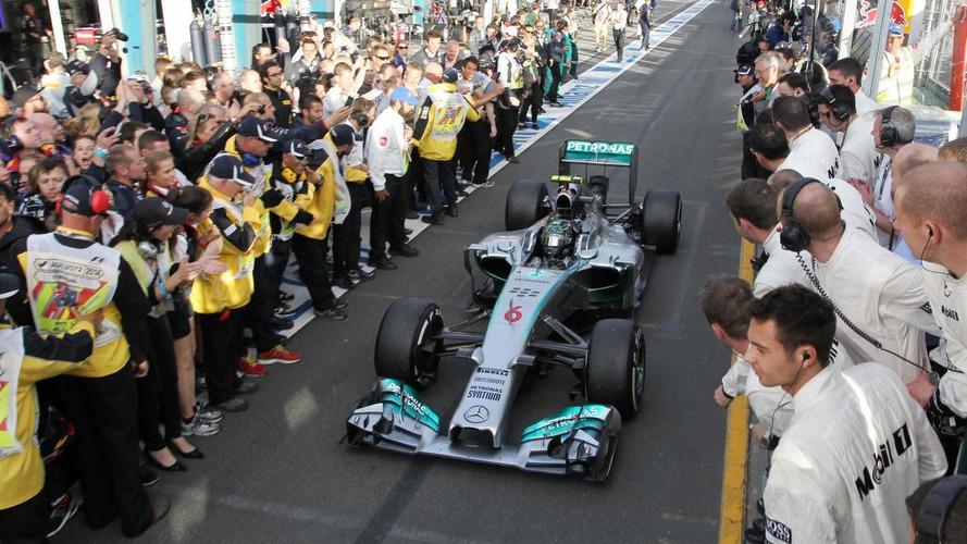 Rivals think Mercedes has big advantage