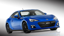 Subaru BRZ with STI concept sports kit