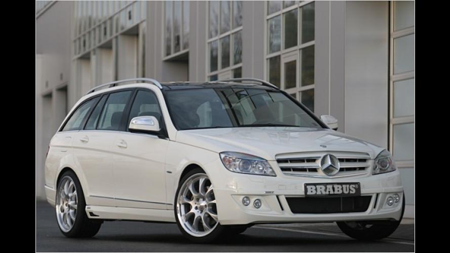 Brabus befeuert das neue Mercedes C-Klasse T-Modell