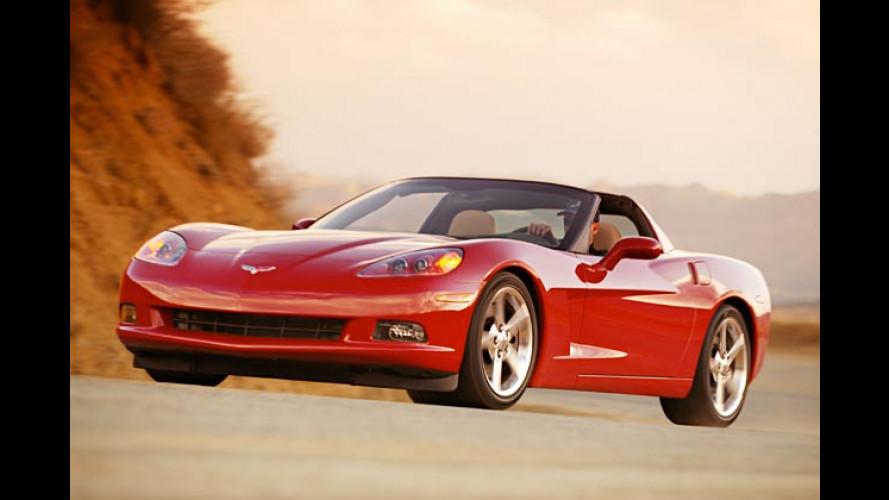 Einfach sechsy: Neue Corvette kommt mit noch mehr Power