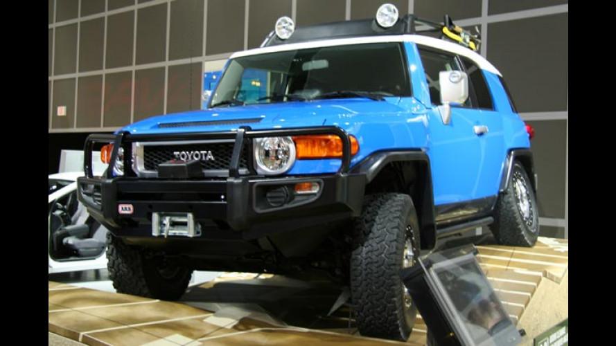 Toyota in Detroit: FJ Cruiser, neuer Camry und F3R Concept