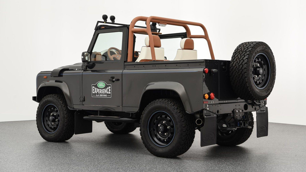 2018 Land Rover Models >> Land Rover Defender Gets Startech's Idea Of An Autobiography Trim