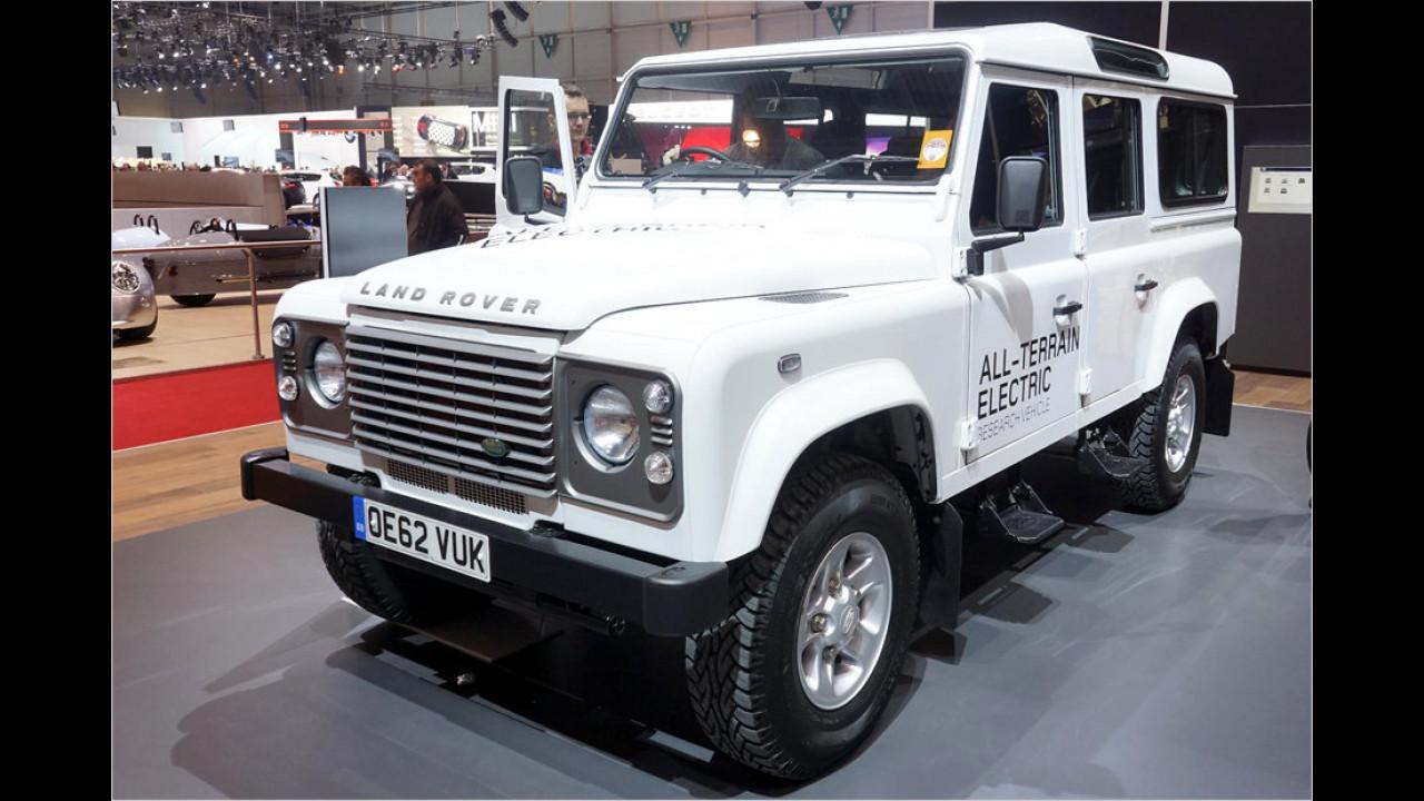 Land Rover Defender mit Elektroantrieb