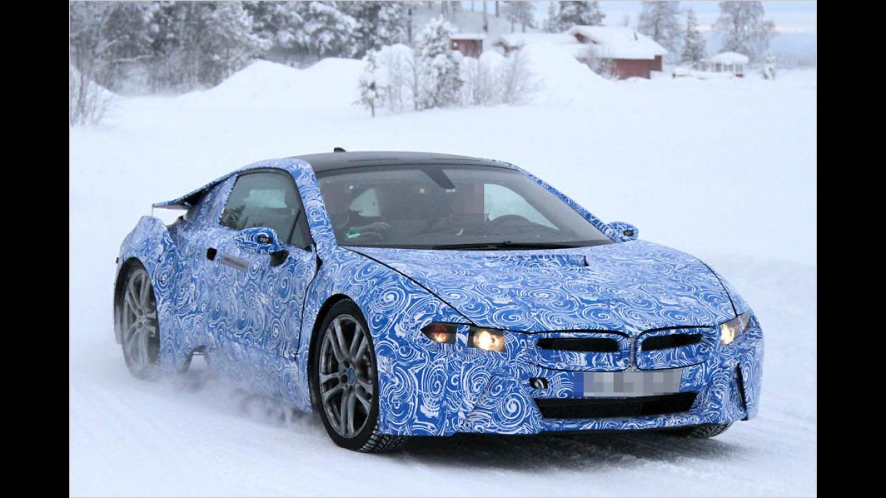 Bayern-Flunder im Schnee erwischt
