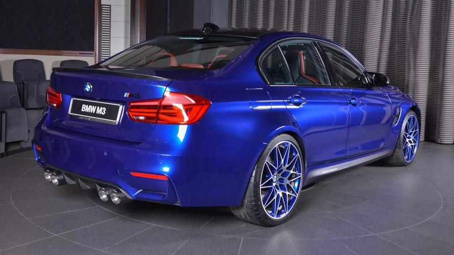 PHOTOS - Une unique BMW M3 à Abu Dhabi