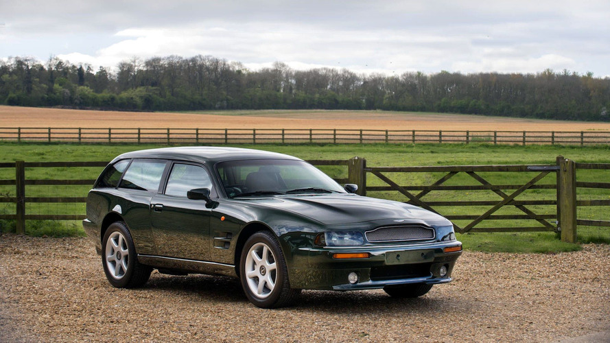 Aston Martin V8 Sportsman - Break pour gentlemen