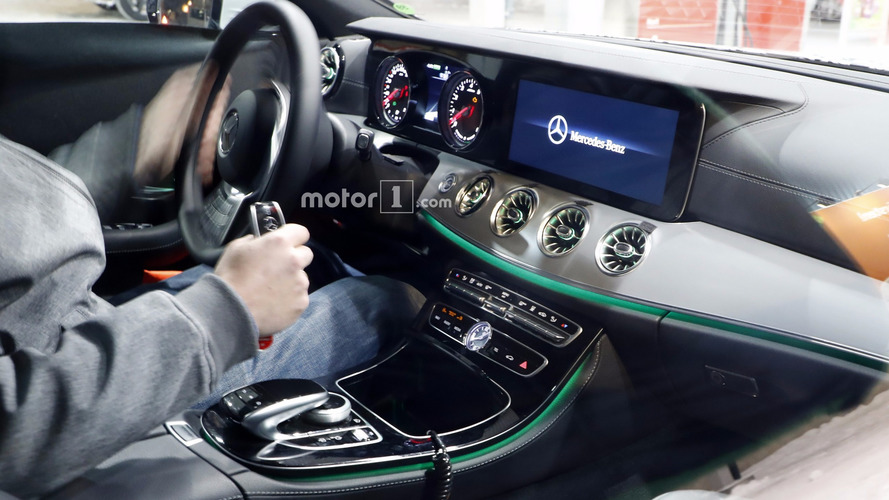 2018 Mercedes CLS spied inside showing its E-Class roots