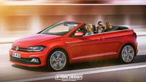 Volkswagen Polo R y Polo GTI Cabrio renders