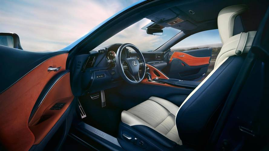 Lexus LC Blue Edition