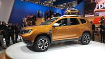 2018 Dacia Duster live photos
