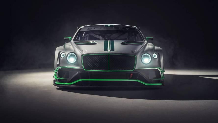 2018 Bentley Continental GT3 race car