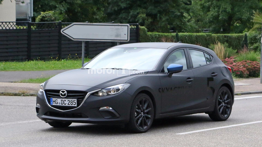 Mazda3 Test Mules Spied Not Hiding Skyactiv-X Engine Development