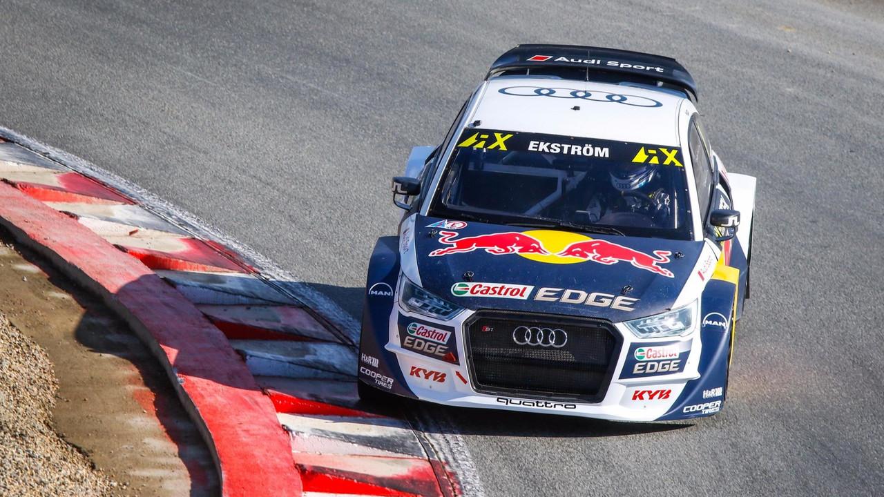Mattias Ekstrom Rallycross Loheac