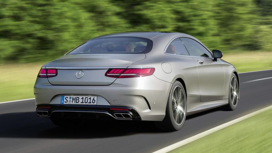 Frankfurt yolcusu makyajlı Mercedes-Benz S-Serisi Coupe geldi
