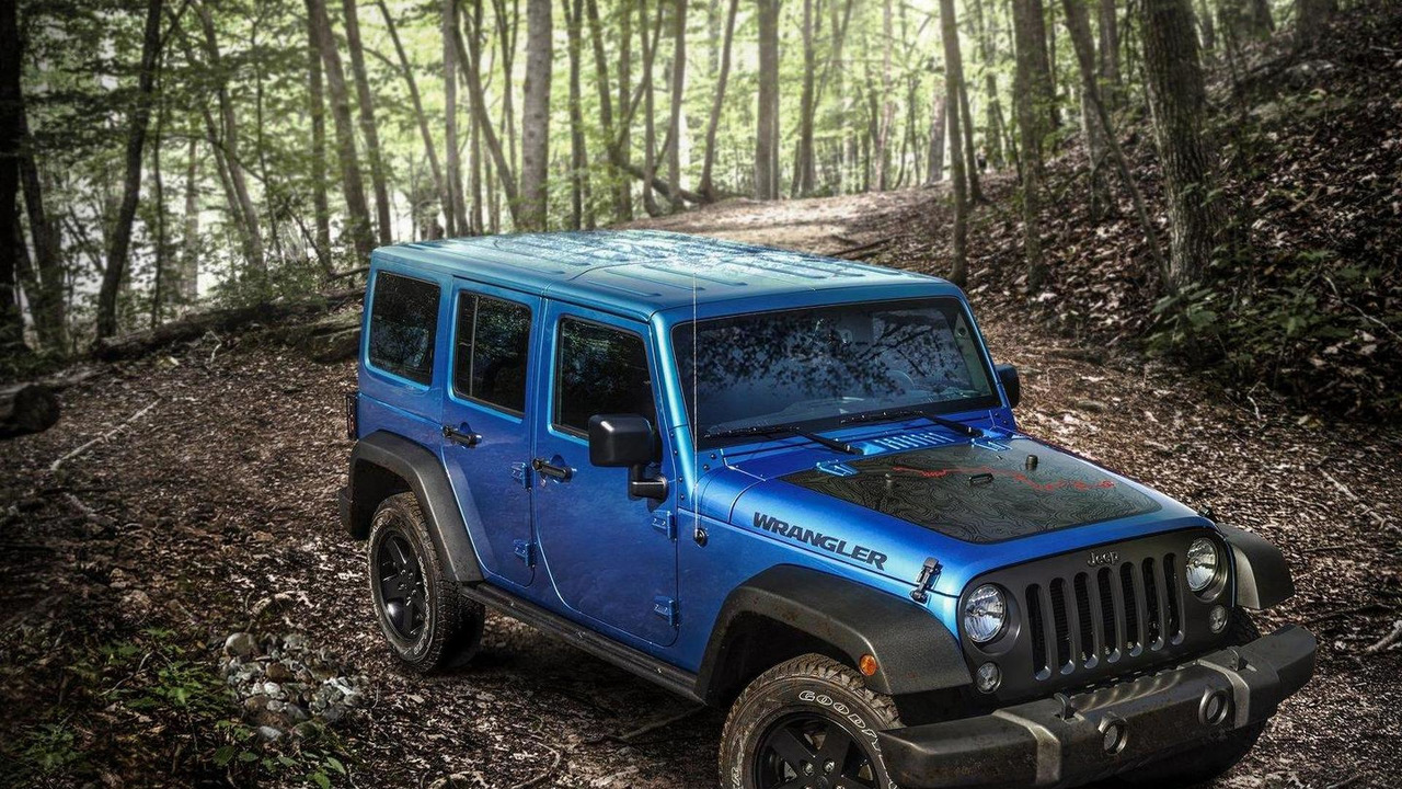 2016 Jeep Wrangler Black Bear Edition