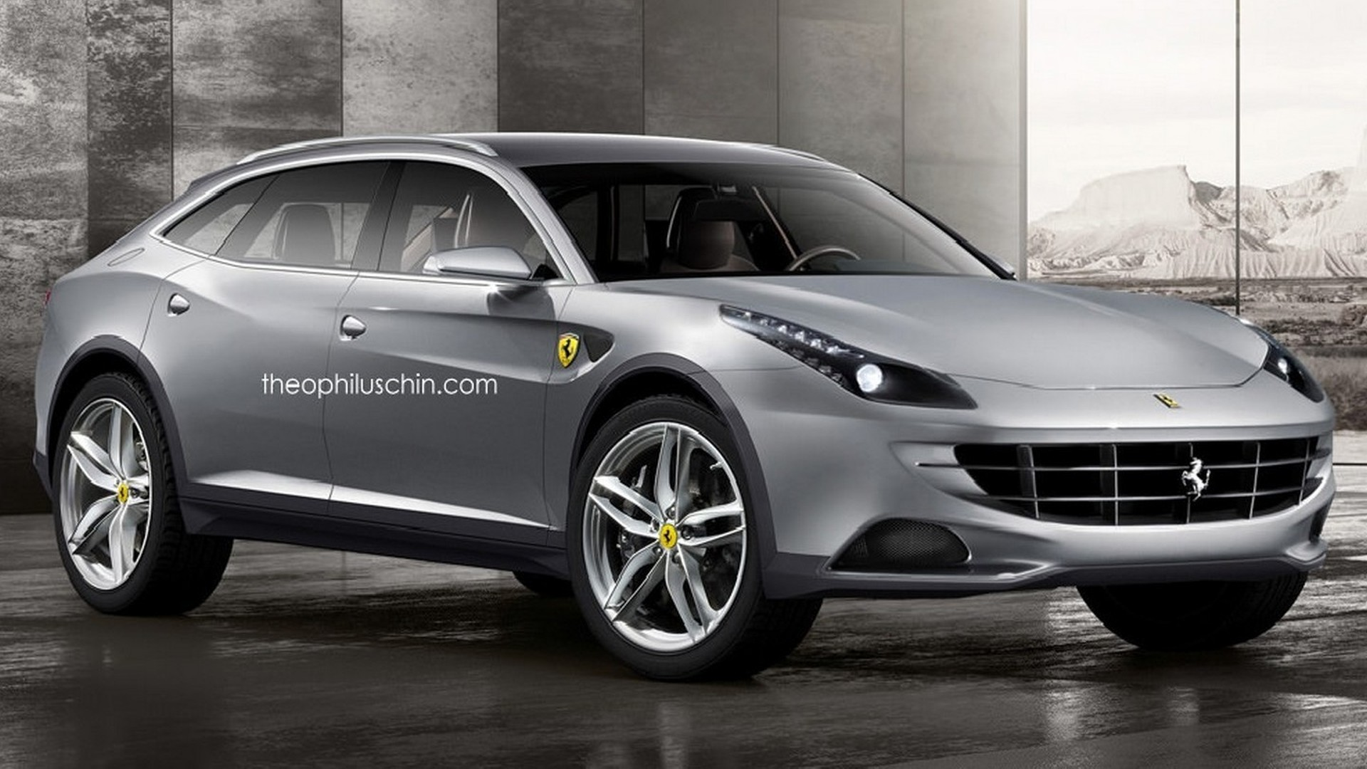 ferrari may build an suv over its own dead body. Black Bedroom Furniture Sets. Home Design Ideas