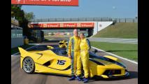 Ferrari FXX K, un bel regalo di compleanno!