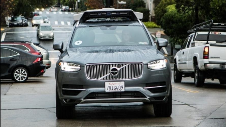 Uber lascia la Danimarca e riprende i test sulla guida autonoma negli USA