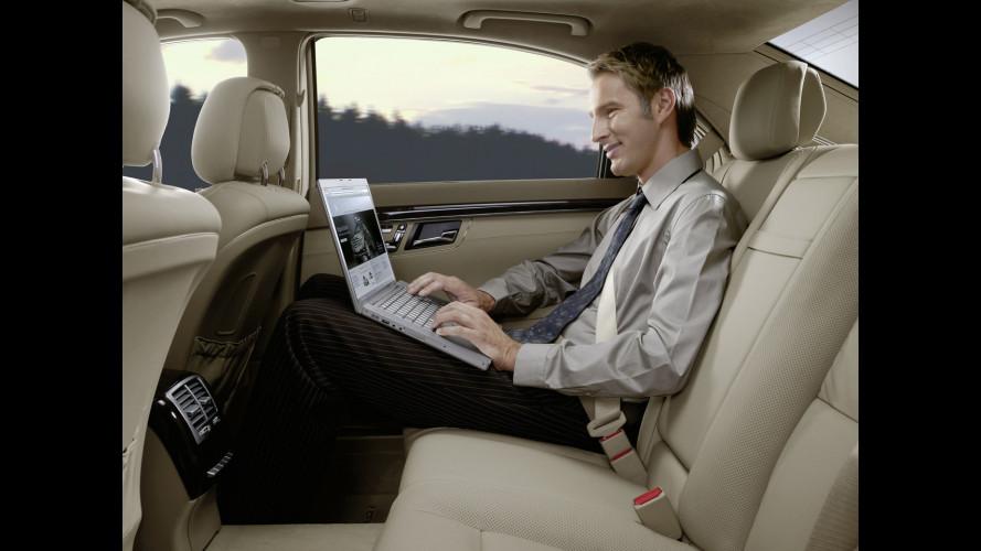 Mercedes propone internet senza fili