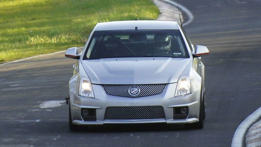 Video: Cadillac CTS-V 7:59 Ring Run