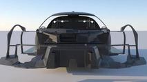 SCG 003 carbon fiber chassis