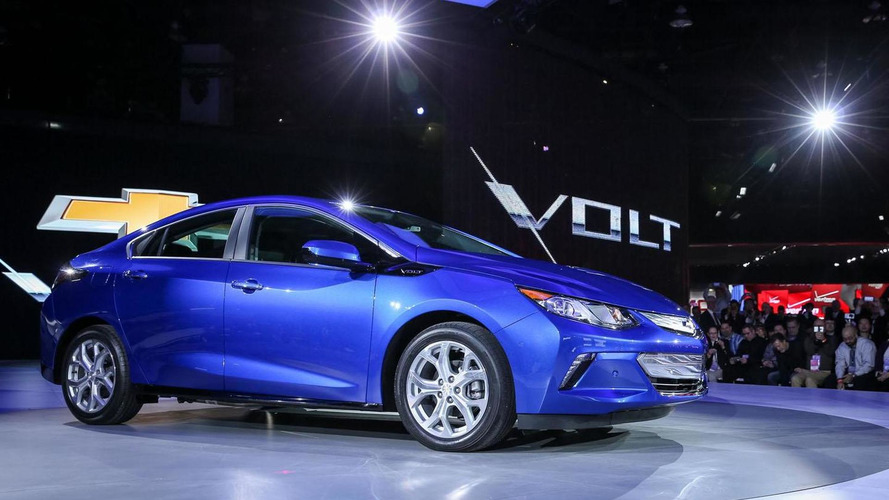2016 Chevrolet Volt rated at 53-mile electric range
