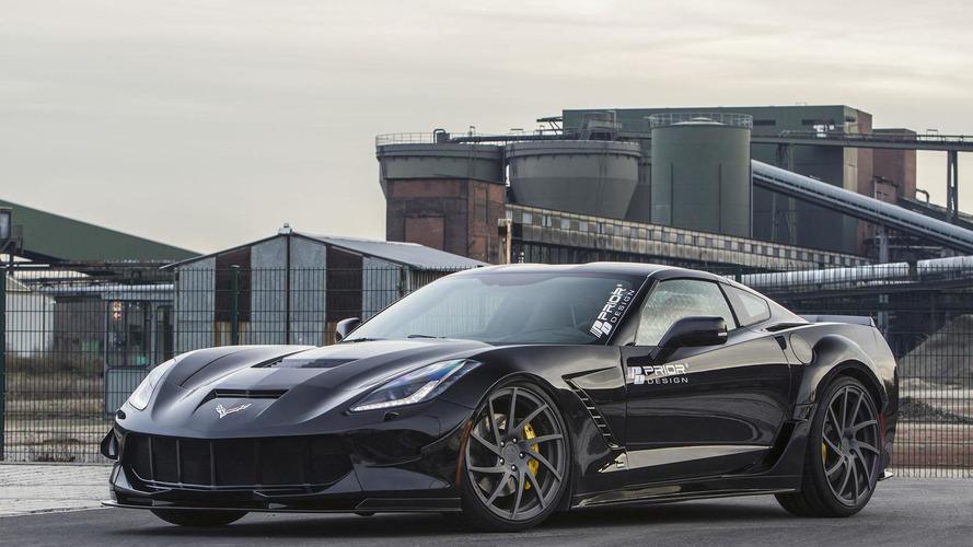 Corvette Stingray gets a widebody kit from Prior Design