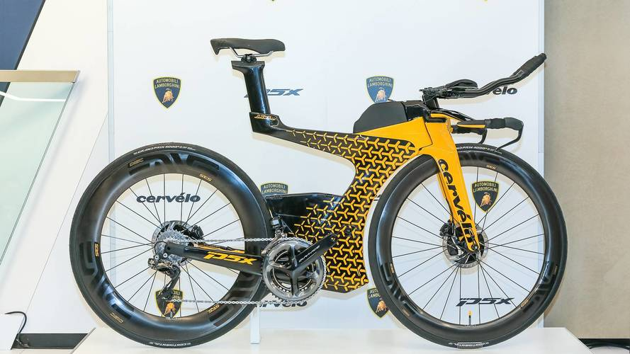 Lamborghini, Cervélo Partner On Aerodynamic Triathlon Bike