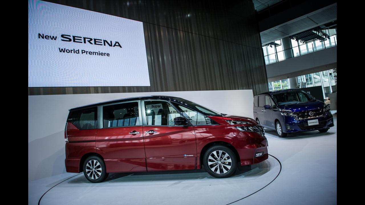 Nuova Nissan Serena con ProPilot