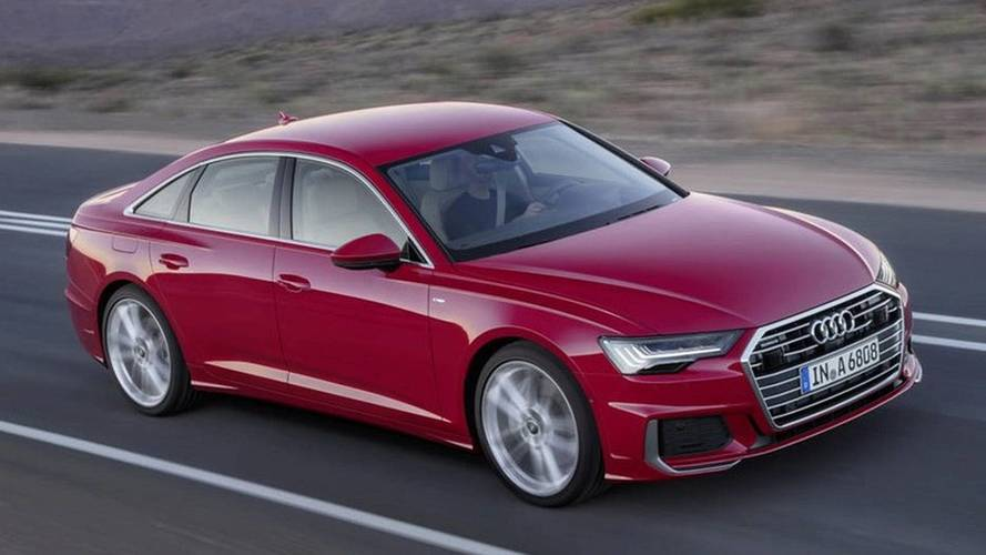 Are these leaked official images of the all-new Audi A6?