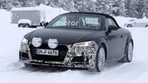 2019 Audi TT Roadster Spy Shots