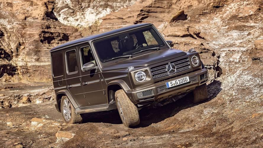 Mercedes G-Serisi'ne dizel versiyonu geliyor