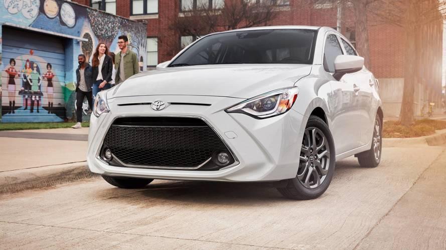 Toyota Yaris Sedan, yeni tasarım ve ismiyle tanıtıldı