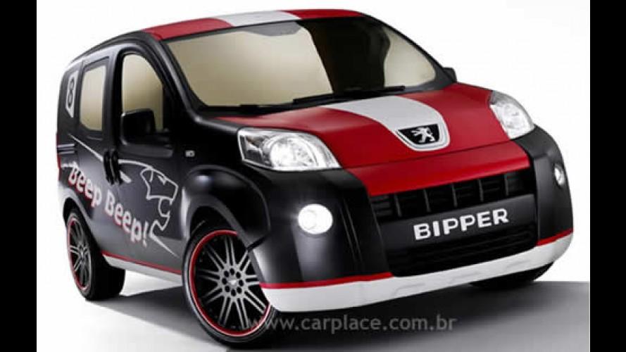 Salão de Bolonha 2007 - Peugeot mostra conceito Bipper