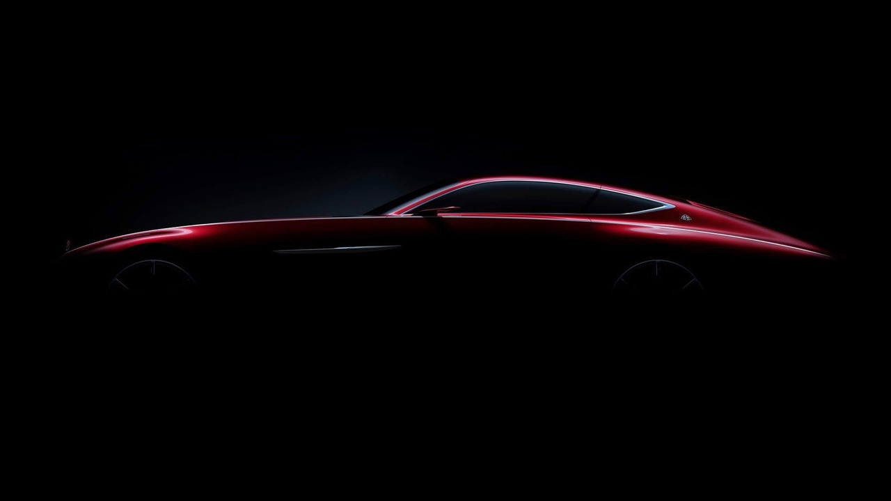 Mercedes-Maybach Coupe Teaser