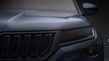 2017 Skoda Kodiaq render based on teaser