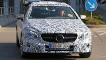 2018 Mercedes E-Class Convertible spy photo