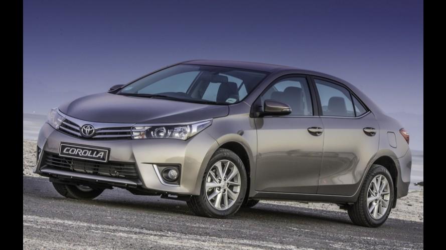 Novo Corolla será apresentado no Brasil no dia 12 de março