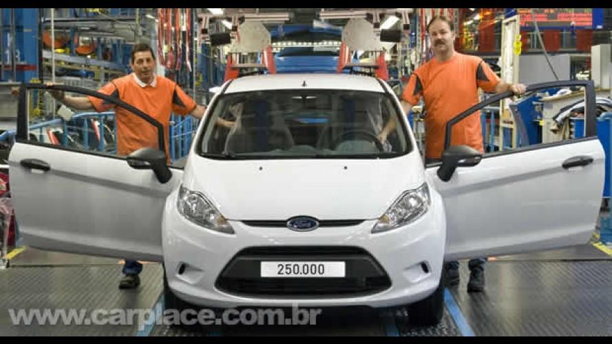 Em 9 meses: Ford celebra produção da unidade 250.000 do Novo Fiesta Europeu