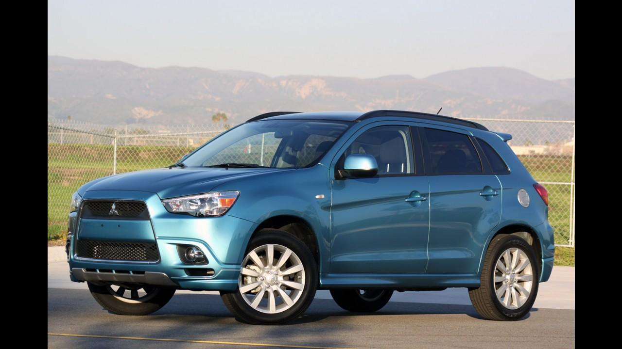 Mitsubishi planeja lançar versão híbrida do ASX nos Estados Unidos em 2013