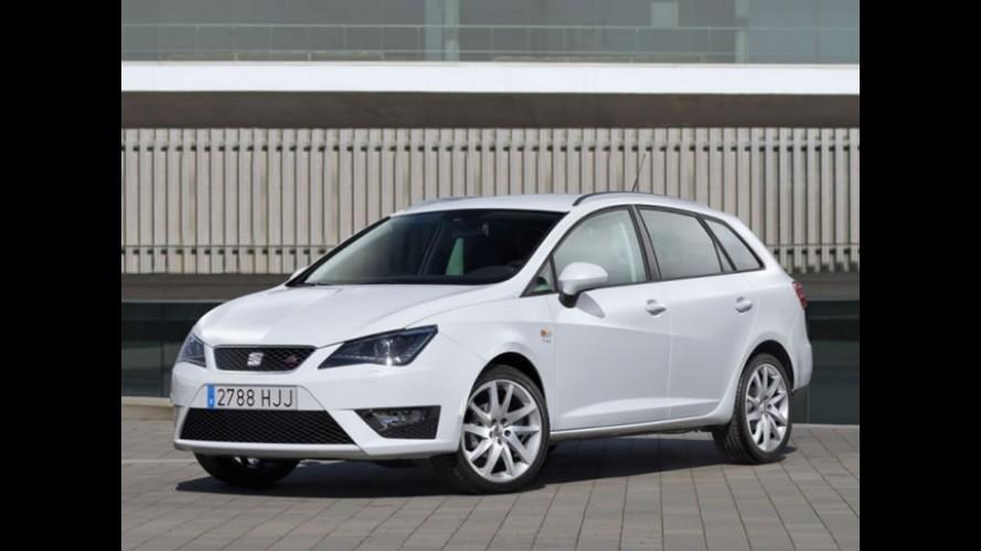 Seat lança Ibiza ST FR com motor 1.4 TSi de 150 cv na Europa