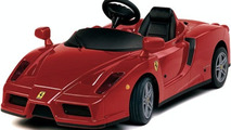 Teammates gave Cristiano Ronaldo a pedal car, like this one, to replace his crashed out Ferrari 599 GTB