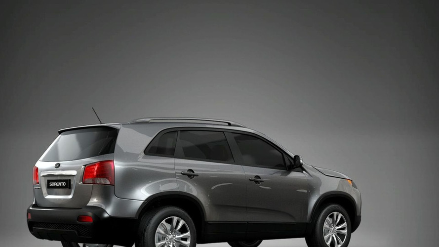 2010 Kia Sorento Officially Revealed