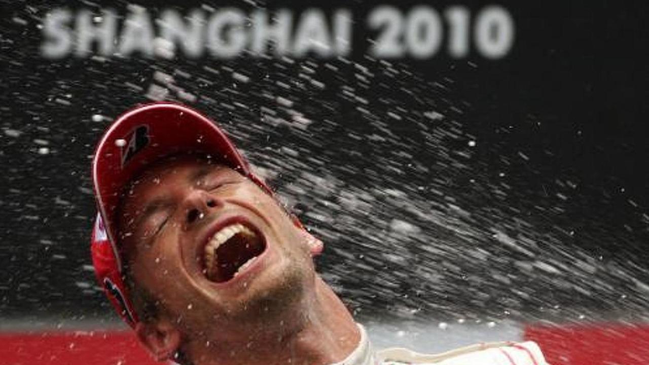 Jenson Button (GBR), McLaren Mercedes, Chinese Grand Prix, 18.04.2010 Shanghai, China