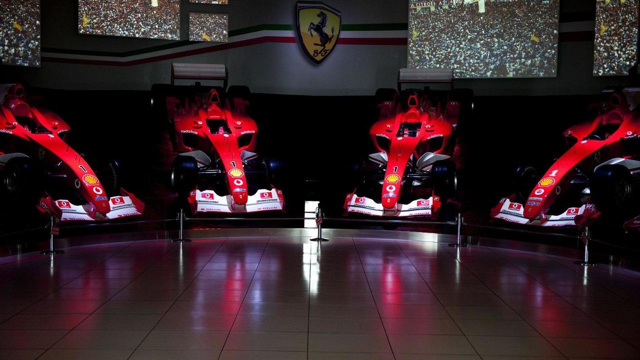 Galleria Ferrari museum, Ferrari Sponsor Art exhibition by Wolfgang Seidl, 28.12.2010