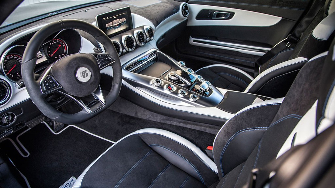 Mercedes S-Class Coupe interior by Prior Design