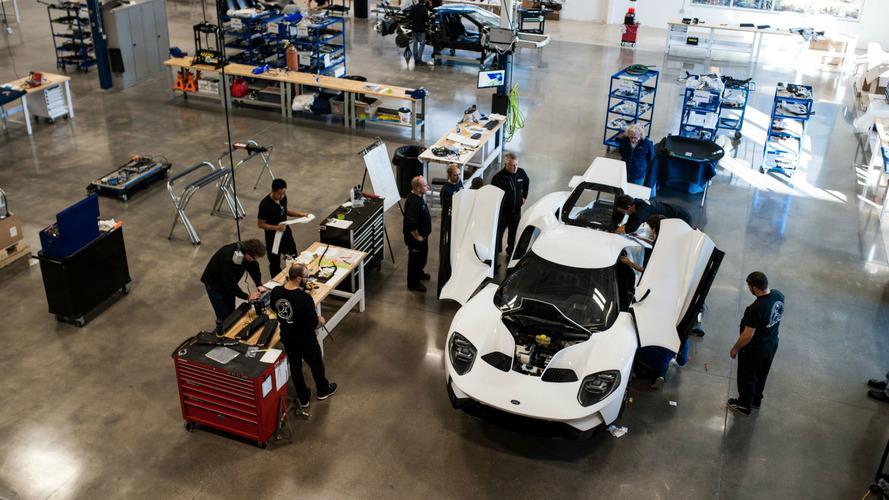 La production de la Ford GT est officiellement lancée !