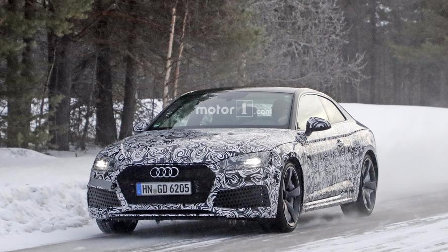 2018 Audi RS5 Coupe casus fotoğrafları