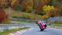 Mini two-wheeled Nurburgring lap